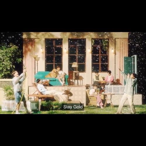 ภาพปกอัลบั้มเพลง BTS Bangtan - Stay Gold (cover)