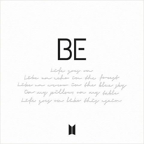ภาพปกอัลบั้มเพลง BTS - Life Goes On