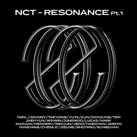 ภาพปกอัลบั้มเพลง NCT RESONANCE Pt.1 NCT 127 NCT U Volcano
